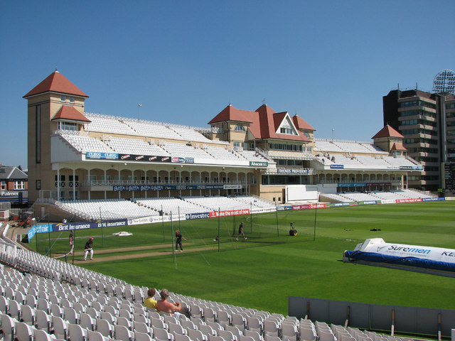 Trent Bridge Cricket Ground: the Radcliffe Road Stand