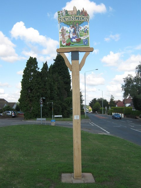 Newington Village Sign