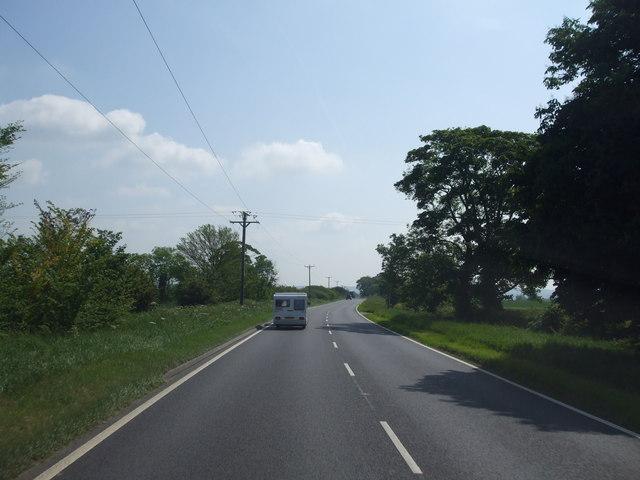 A17 eastbound near Holmes farm