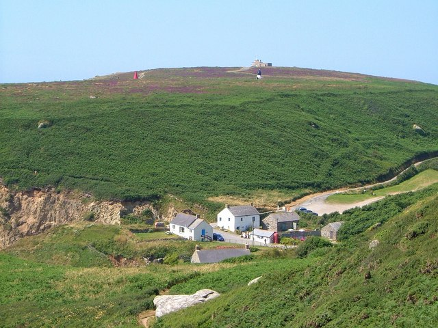 Porthgwarra and coastguard lookout
