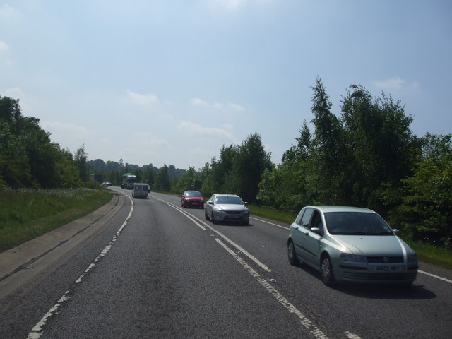 A17 eastbound at Leadenham