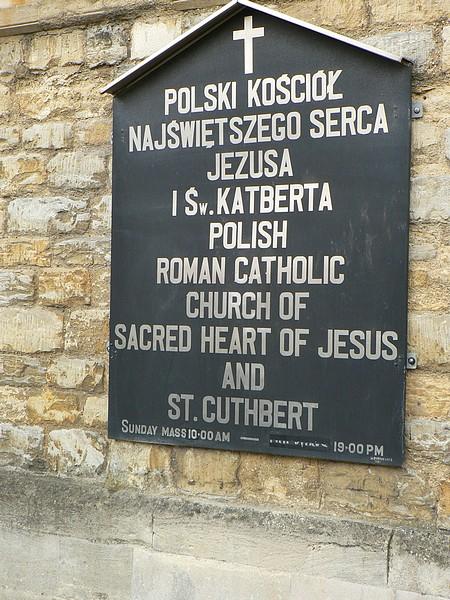Polski Kościół Najświętszego Serca Jezusa i Św Katberta, Bedford