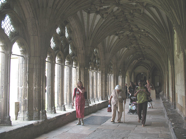 Cloisters of Canterbury Cathedral