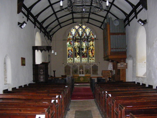 Inside St.Michael's Church, Rendham