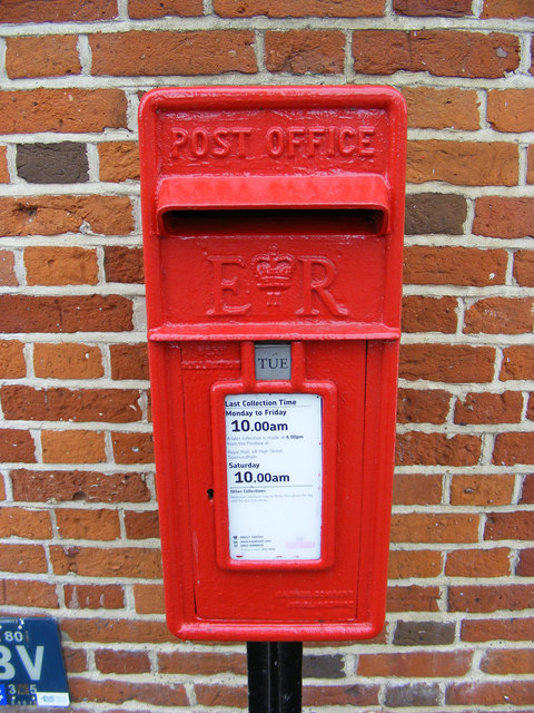 Corner Cottage Postbox
