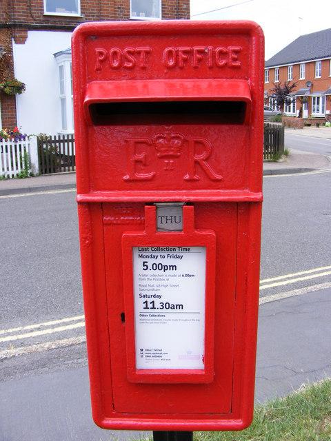St.John's Road Postbox