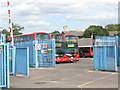 TQ3378 : Bermondsey bus depot by Stephen Craven