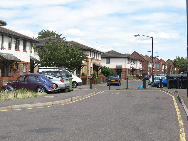 Oxley Close / Abercorn Way