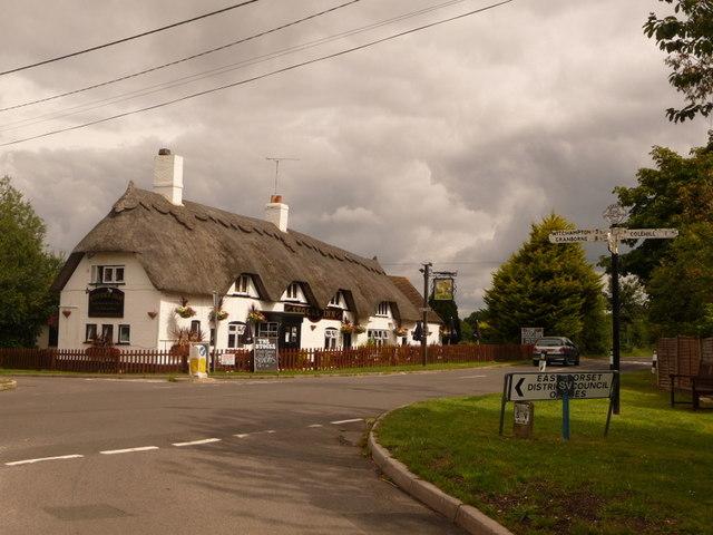 Furzehill: the Stocks Inn