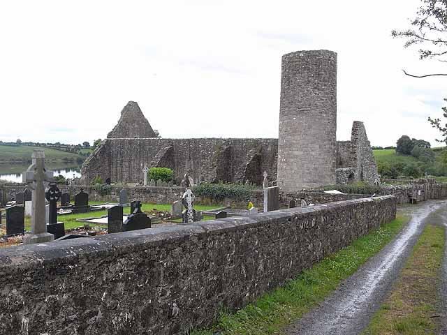 The round tower, Drumlane Abbey