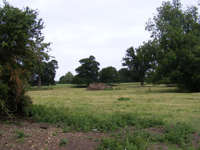 View across the fields