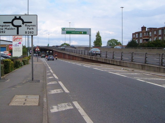 Slip road, Shannon Corner