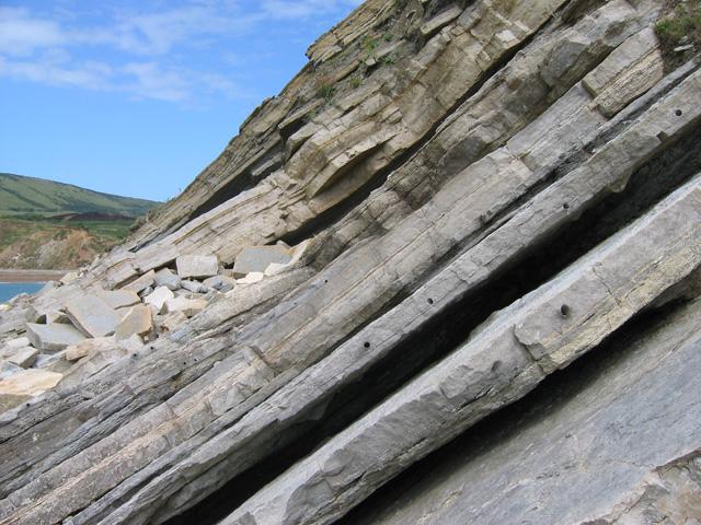 Worbarrow Tout: Shoreline rocks