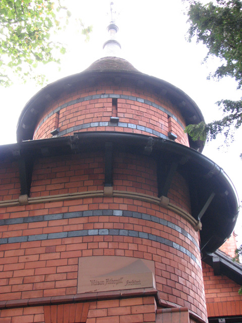 Norris Ladies' Home: corner turret