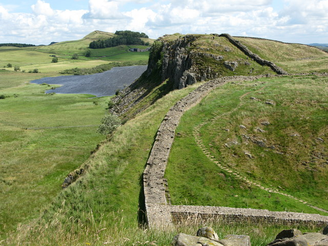 Hadrian's Wall and Highshield Crags