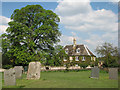 SK8632 : Denton: Leys House from the churchyard by John Sutton