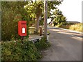 SZ1793 : Burton: postbox № BH23 3, Salisbury Road by Chris Downer