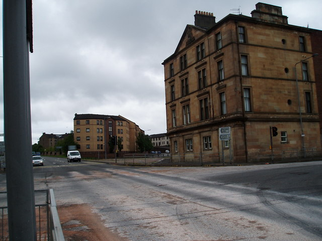 Old Fire Station Springburn 169 Gordon Dowie Geograph