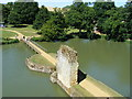 TQ7825 : Entrance to Bodiam Castle by PAUL FARMER