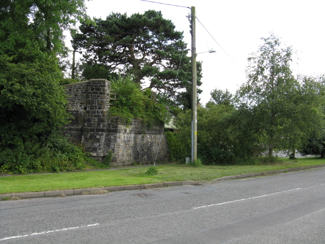 Former Railway Bridge Abutment
