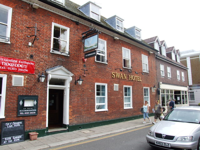 Swan Hotel, Hythe