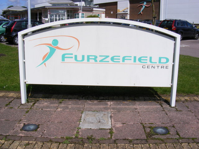 The Furzefield Centre Sign 169 Adrian Cable Geograph