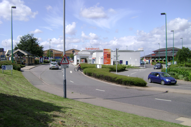 Shires Retail Park Leamington Spa
