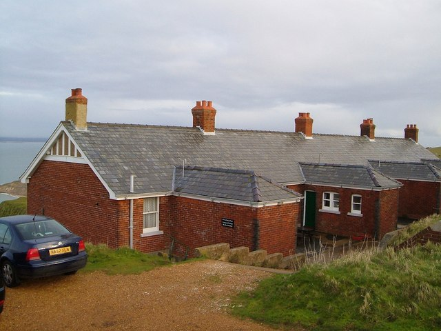 Coastguard Cottages near the Needles