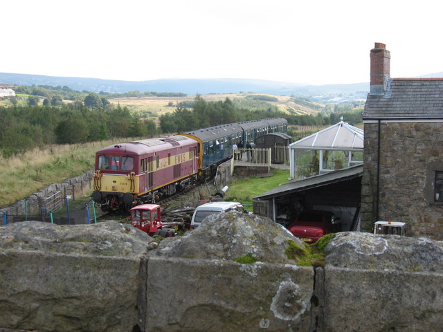 Class 73 at Whistle Inn Halt