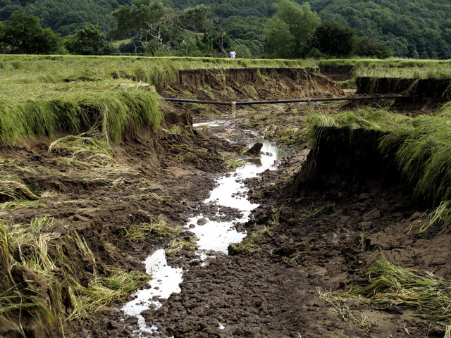 Houghall Farm - Severe & Catastrophic Erosion.