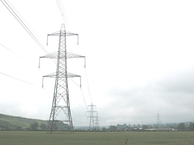 Electricity towers in Glendale
