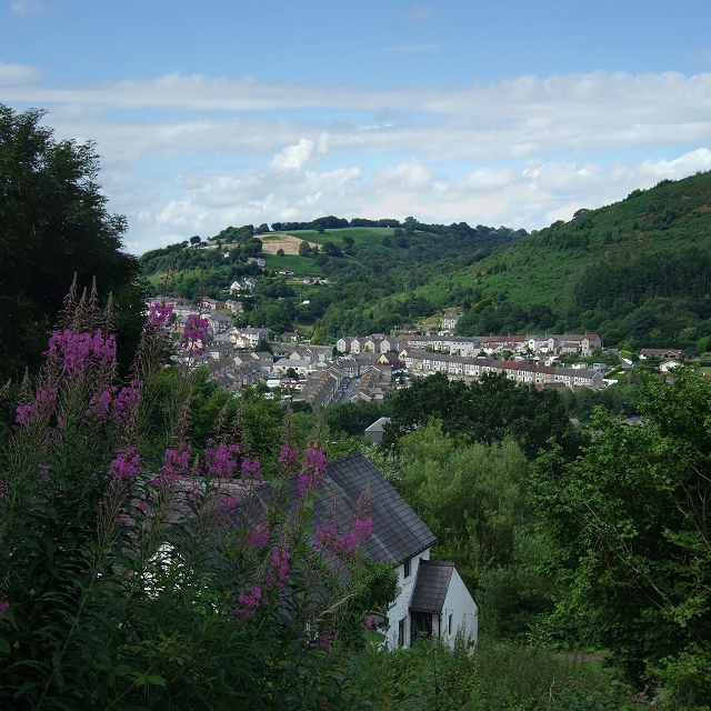 View of Cwmfelinfach