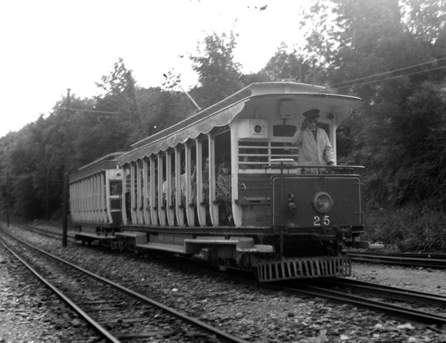 Southbound from Laxey