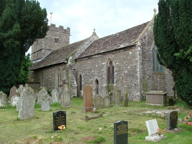 St. Peter's church, Llanwenarth