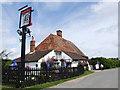 TQ9724 : Woolpack Inn, near Brookland by Chris Whippet
