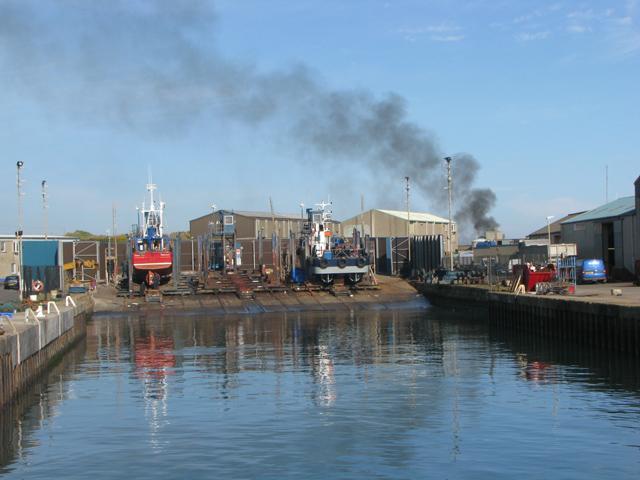 Repair dock, Kilkeel harbour