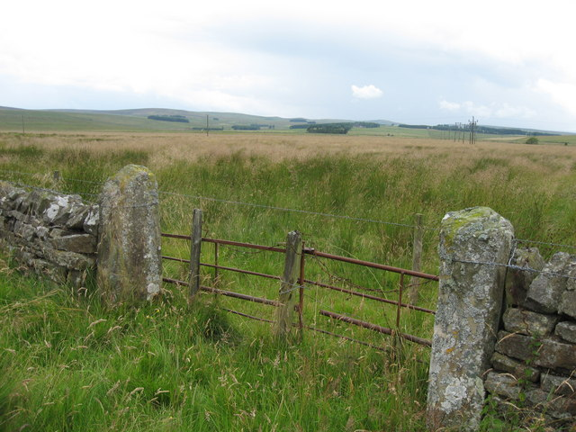 Gate near Monkridge