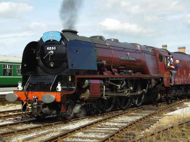 LMS superpower at Swanwick station