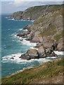 SX6937 : Cathole Cliff by Tony Atkin