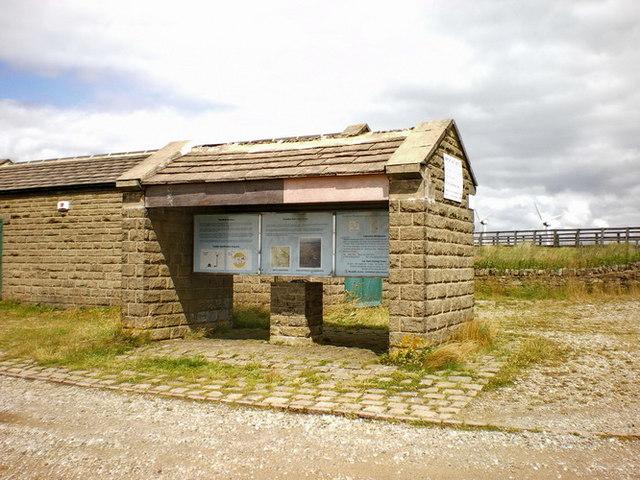 Ovenden Moor Wind Farm, Information point