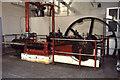 TQ3688 : Steam engine, Low Hall Depot by Chris Allen