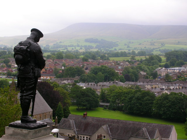 Sentinel over Clitheroe