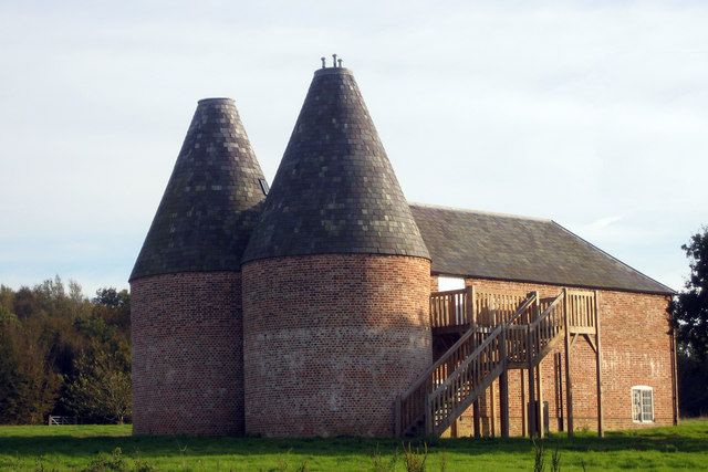 Oast House at Yonsea Farm, Rare Breeds Centre, Woodchurch, Kent
