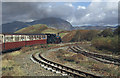 SH6742 : Ffestiniog Railway, above Ddault Station by Stephen McKay