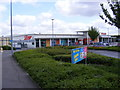 TL7723 : Tesco Supermarket, Marks Farm, Coggeshall Road by Adrian Cable