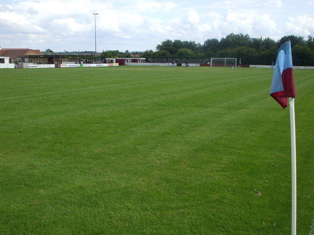 The Fieldings, home of Sutton Town AFC, Notts.