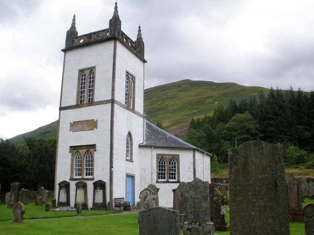 Kilmorich Church Cairndow