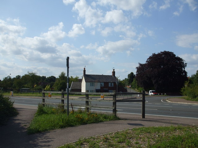 The Site of Ditchingham Railway station