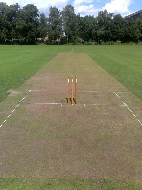 Excel Gantt Chart Template 2013: Cricket Pitch in West Park © David Lally cc-by-sa/2.0 :: Geograph ,Chart