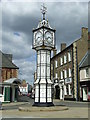 TF6103 : The Clock Tower Downham Market by Keith Evans